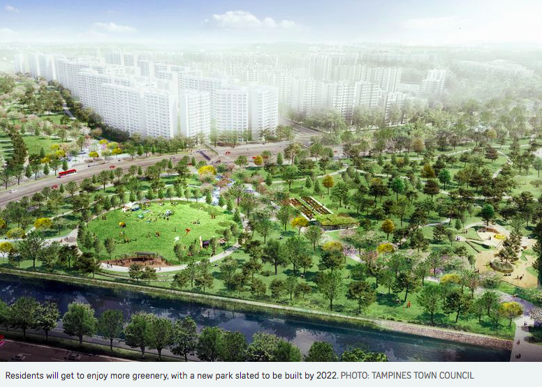 tampines town council rolls out five-year masterplan for eco-friendly town 1